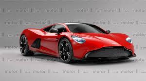 aston martin sports car