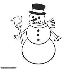 Small Picture Snowman Coloring Pages Get Coloring Pages