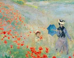 poppies painting poppies at argenteuil by claude monet