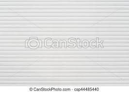 white garage door texture. White Metal Roller Door Shutter Background And Texture - Csp44485440 Garage