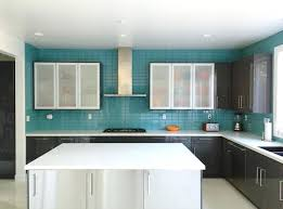 blue kitchen backsplash aqua blue kitchen glass subway tile modern for size x l large size