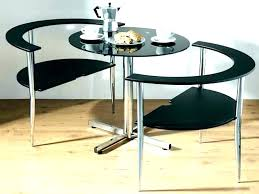 small dining table with chairs round