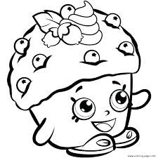 Muffin Coloring Page If You Give A Moose Printable Pages Blueberry
