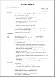 ... Lovely Design Pharmacy Technician Resume 13 Cover Letter Samples ...