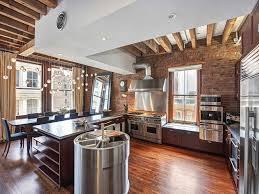 ... Amazing Loft Interior Design Mixed Materials Style Commercial Kitchen  Units: Extraordinary Modern Industrial ...