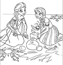 Small Picture Coloring Pages Frozenprintable Frozen Coloring Pages Online 638595