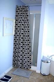 walk in shower curtains hide ugly shower doors bathroom extra long shower curtains for walk in walk in shower curtains