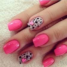 Pink Nail Art Design 30 Pink Nail Art Designs