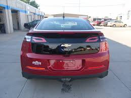 Crystal Light Electric Motor Crystal Red Chevy Volt 2012 Light Neutral Leather Electri