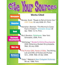 how to cite your sources cite your sources poster