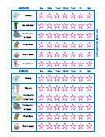 Hygiene Behavior Charts