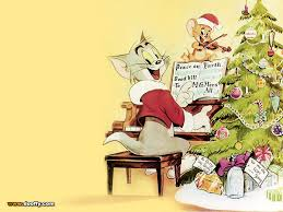 tom and jerry images tom and jerry christmas hd wallpaper and background photos