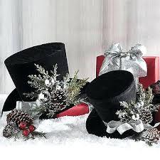 charming top hat tree topper idea road cute for a snowman christmas decorations mini ornament