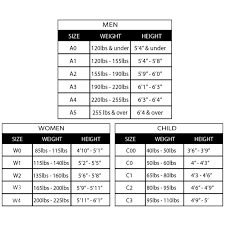 Gi Sportz Pants Size Chart Gi Size Chart 2019 Find The Perfect Gi Fit For Your Age Weight