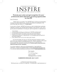 Cover Letter Template For Hairdressing Resume Sample Hair Stylist
