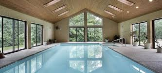 indoor pool. Indoor Pools Are A Great Way To Beat The Summer Heat, But They Not As Maintenance-free You Might Think. Although Locked In Pool M