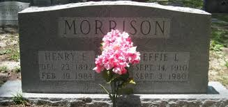 Effie Lee Morrison (Odom Henderson) (1910 - 1980) - Genealogy