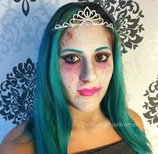 walking dead make up tutorial for cartoon zombie princess makeup tutorial zombie makeup ideas you