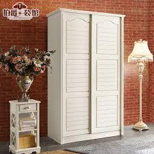combination of idyllic small two sliding door wardrobe 1 m wooden european solid wood sliding door wardrobe sliding door 2 door wardrobe 1 2 m in
