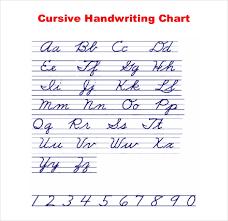 11 Cursive Writing Templates Free Samples Example Format