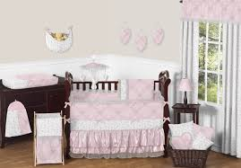 unique baby girl crib bedding sets with baby girl nursery bedding