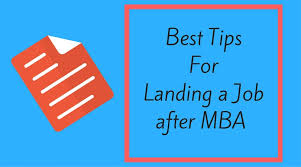 Best Jobs For Mba 7 Proven Best Tips For Getting A Job After Mba With No Experience