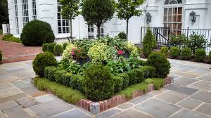 Small Picture Square Flower Bed Ideas Landscape Designs Pineville front