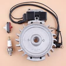 Us 31 01 6 Off Flywheel Ignition Coil Magneto Kill Switch Spark Plug Fit Husqvarna 365 372 371 362 385 390 Chainsaw Parts In Chainsaws From Tools On