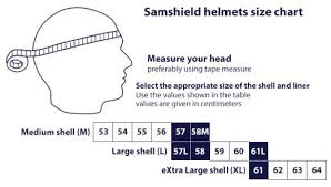 Samshield Helmet Size Chart Samshield Helmet Size Chart Best Picture Of Chart Anyimage Org