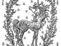 Unicorno Disegni Da Colorare Per Adulti Con Disegni Unicorno Kawaii