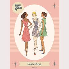 Sew Over It Patterns Classy Sew Over It Sewing Patterns Dressmaking Patterns Sew Over It