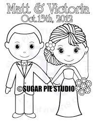Gepersonaliseerde Afdrukbare Bruid Bruidegom Bruiloft Partij Etsy