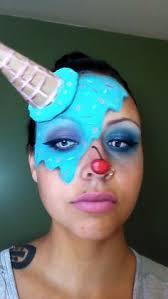 melted ice cream makeup tutorial you empressmakeup makeup meltedicecream candyclown