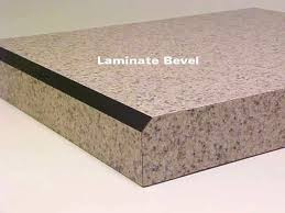 photo of laminate bevel countertop bevel edge