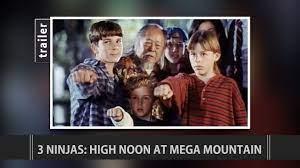 3 Ninjas: High Noon at Mega Mountain (1998) Trailer - YouTube