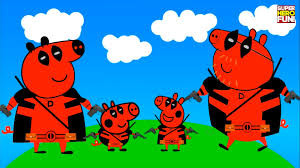 Small Picture Peppa Pig Deadpool Coloring Coloring Book Learn Colors