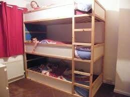 IKEA Hackers: Space saving kids triple bunk beds! Saw this and thought of  grandsons