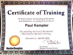 Certificate Of Training Completion Template Certificate Of Completion Training Format Sample On The Job