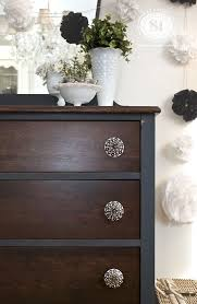 diy painting furniture ideas. painting furniture stained and painted mix diy ideas a