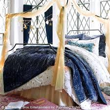 harry pottera enchanted night sky duvet cover sham pbteen harry potter bedding set