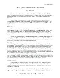 Apa Essay Examples How To Write An Apa Essay Style Blog Italics Example Research