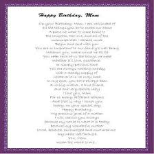 mom birthday poems from daughter poems for momhappy birthday intended for happy birthday mom letter