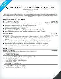 Entry Level Manual Qa Tester Resume Sample Samples Game Test