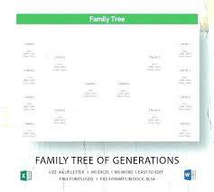 Free Template Family Genogram Word C Definition Templates Symbols