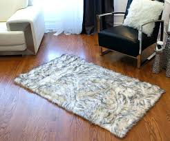 fur rug black faux fur area rug faux sheepskin grant gray area rug faux sheepskin area