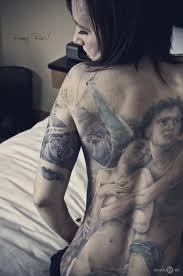 Fallen Anděl Tetování Hodnota U Dívek