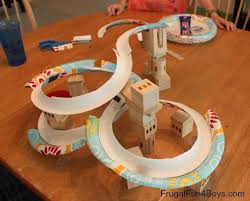 the ultimate diy recycled marble run use up those old milk cartons and paper s to make a super creative marble run