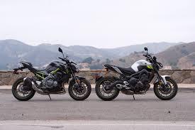 Kawasaki <b>Z900</b> vs. Yamaha FZ-09: Comparison Test