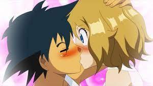 ASH X SERENA HISTORY AND KISS - Pokemon AMV - YouTube
