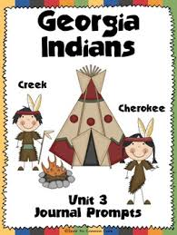 Creek And Cherokee Venn Diagram Georgia Creek And Cherokee Indian Journal Prompts Indian